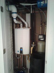 Tankless water heater installed in utah